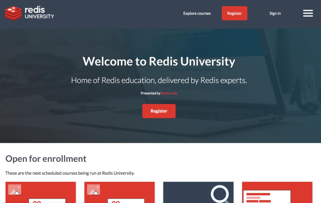 open edx - redis university example