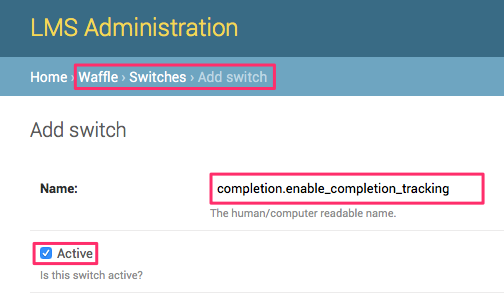 Enabling the Completion API in Open edX Hawthorn