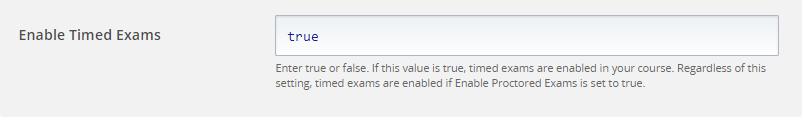 Open edX Studio - Timed Exams